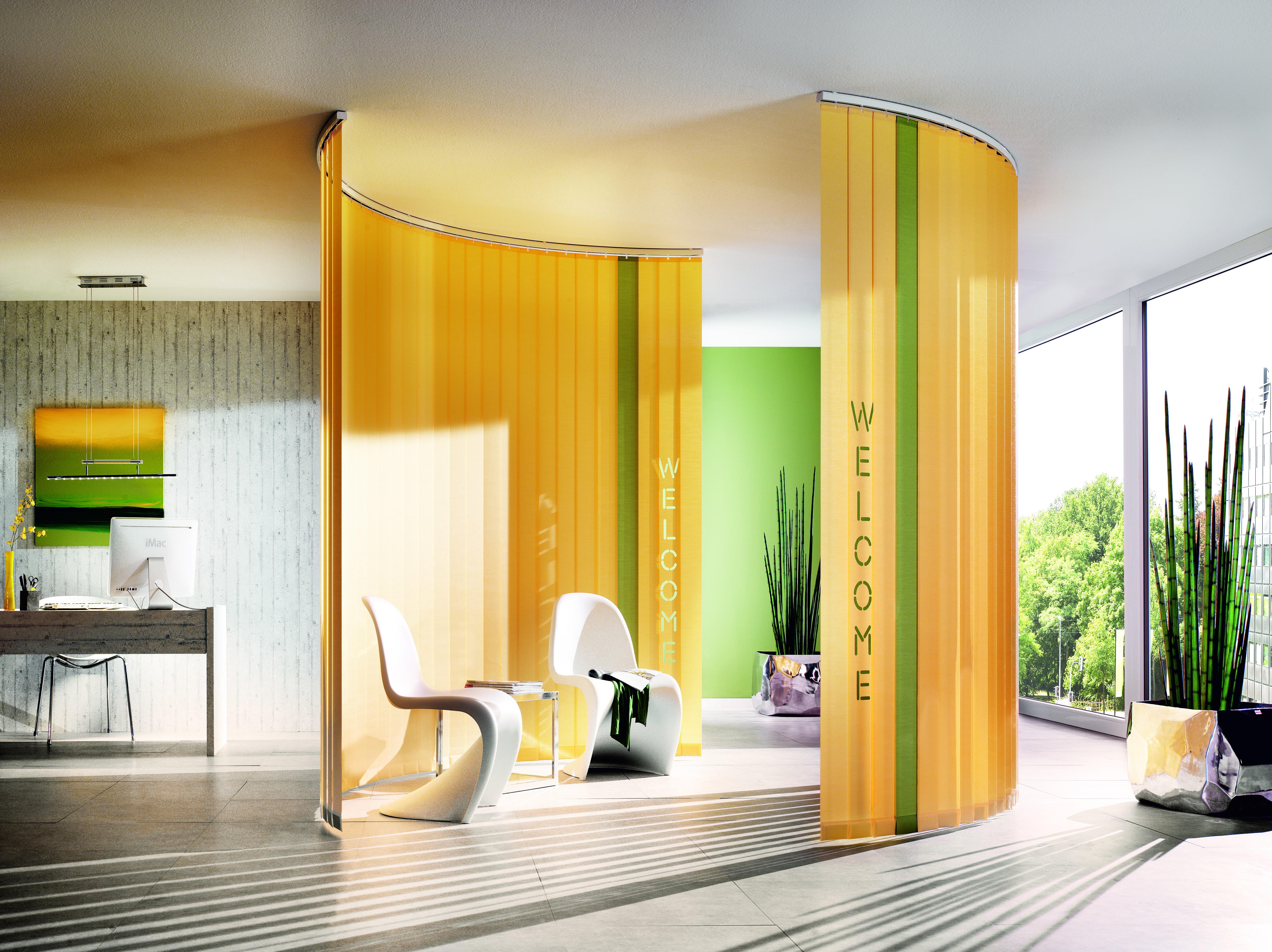 lamellenvorhang vertikale. Black Bedroom Furniture Sets. Home Design Ideas